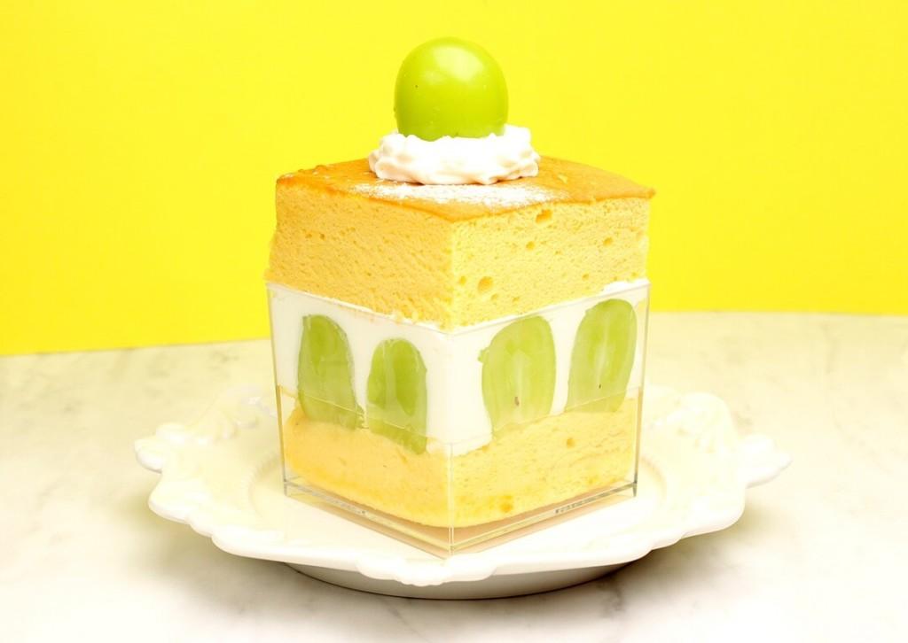 台湾カステラショートケーキ シャインマスカット