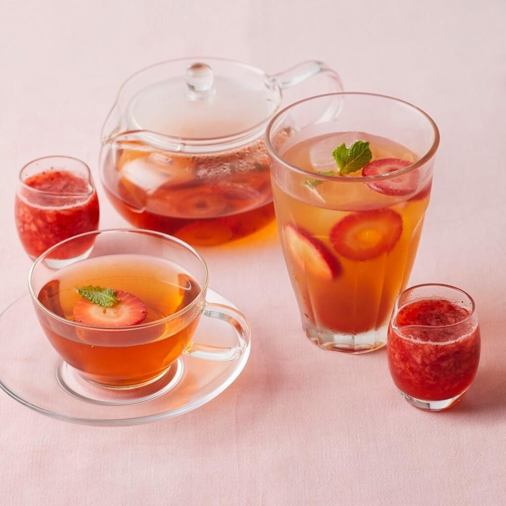 Afternoon Tea 苺づくしのフレッシュストロベリーティー