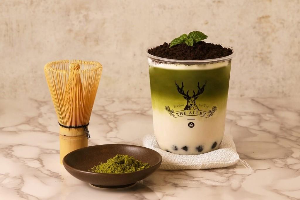 ジアレイ 盆栽抹茶タピオカラテ