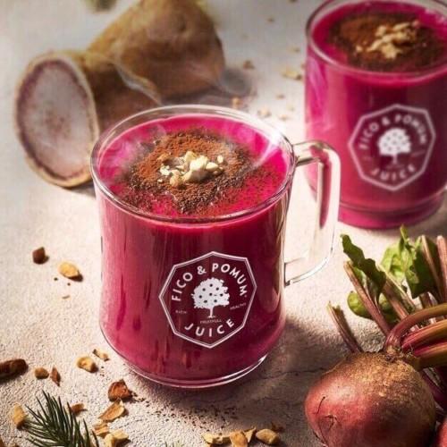 フィコ&ポムムジュース 紫芋とビーツの温活スムージー