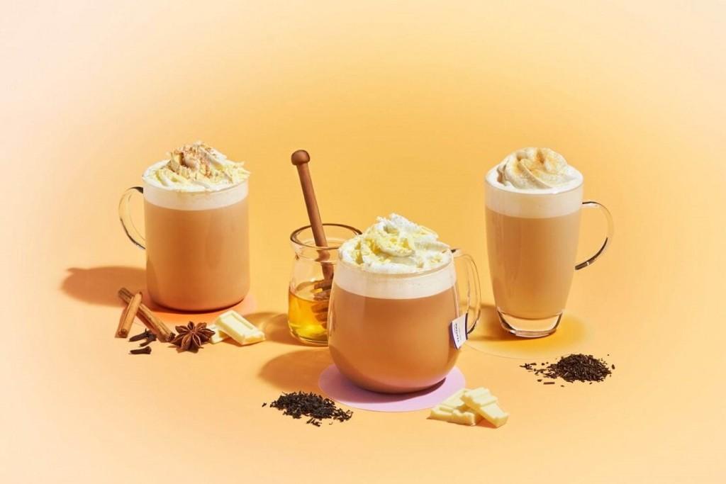 スタバ チャイ & ホワイト チョコレート ティー ラテ