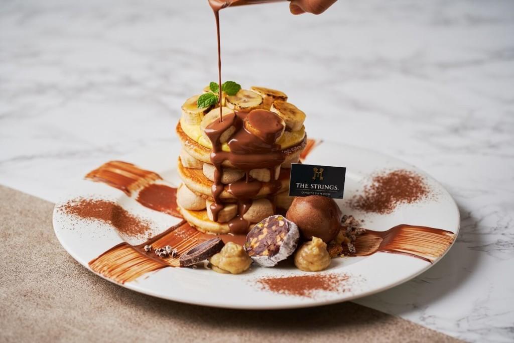 Cafe & Dining ZelkovA チョコバナナ パンケーキ