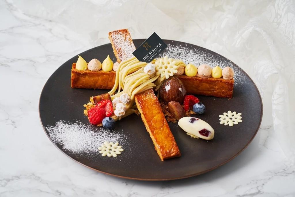 Cafe & Dining ZelkovA モンブラン ミルフィーユ