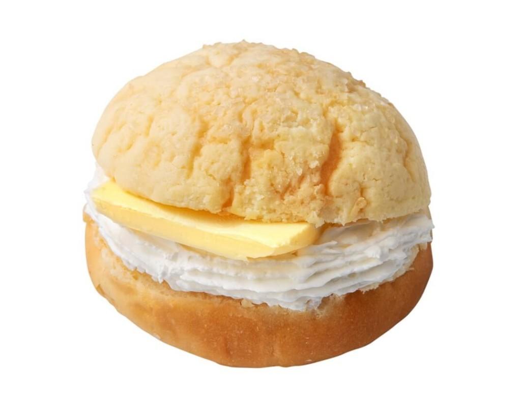 台湾生クリームメロンパン
