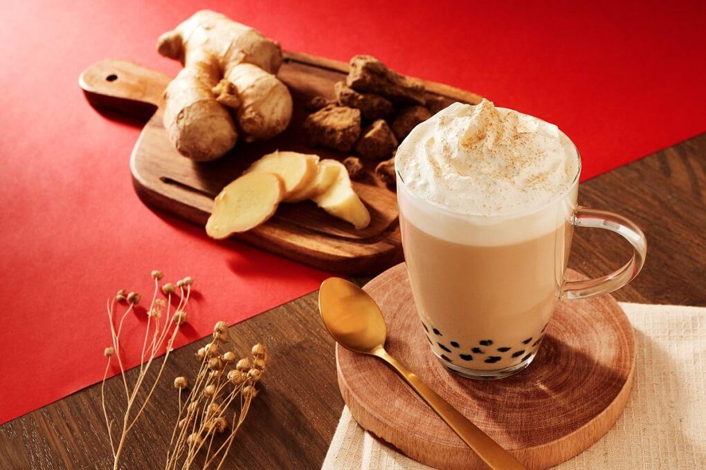 台湾甜商店 黒糖生姜ミルクティー