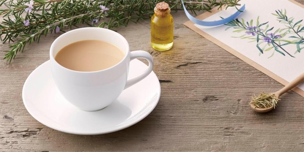 上島珈琲店 ローズマリーミルク紅茶