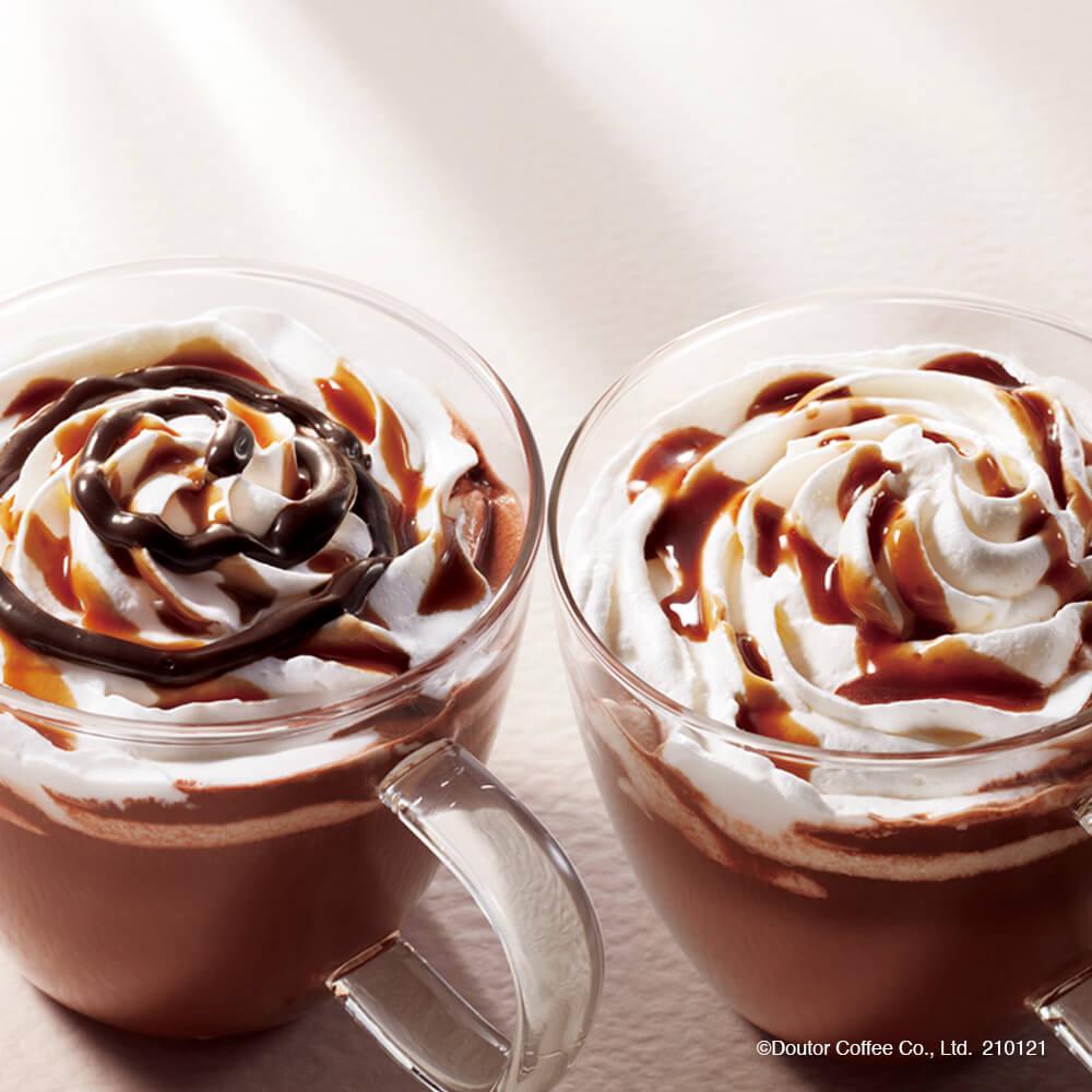 ドトールコーヒー ダブルナッツ ショコラ/ ショコラモカ