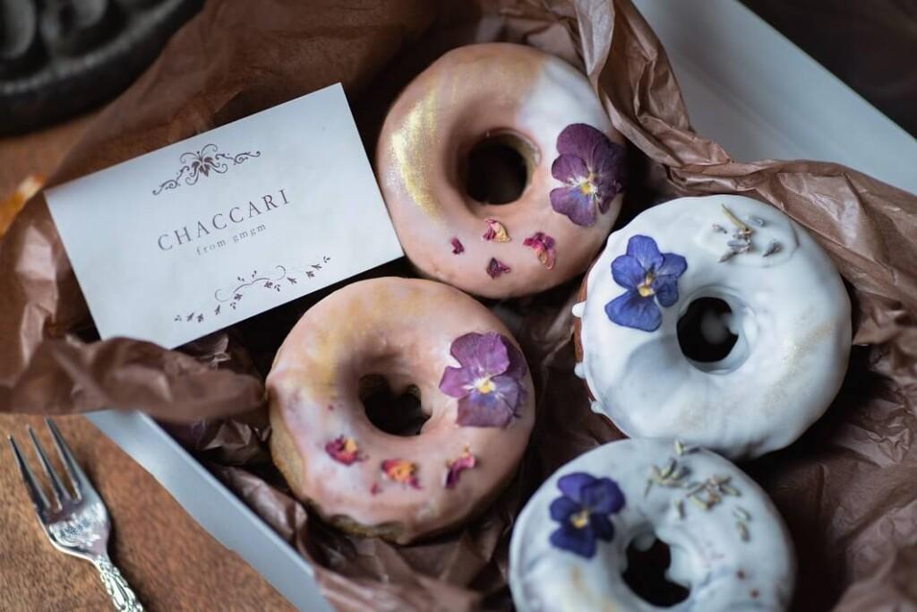 お花の焼きドーナツ専門店「gmgm」 「お花のペアドーナツ」【CHACCARI 〜ちゃっかり〜】