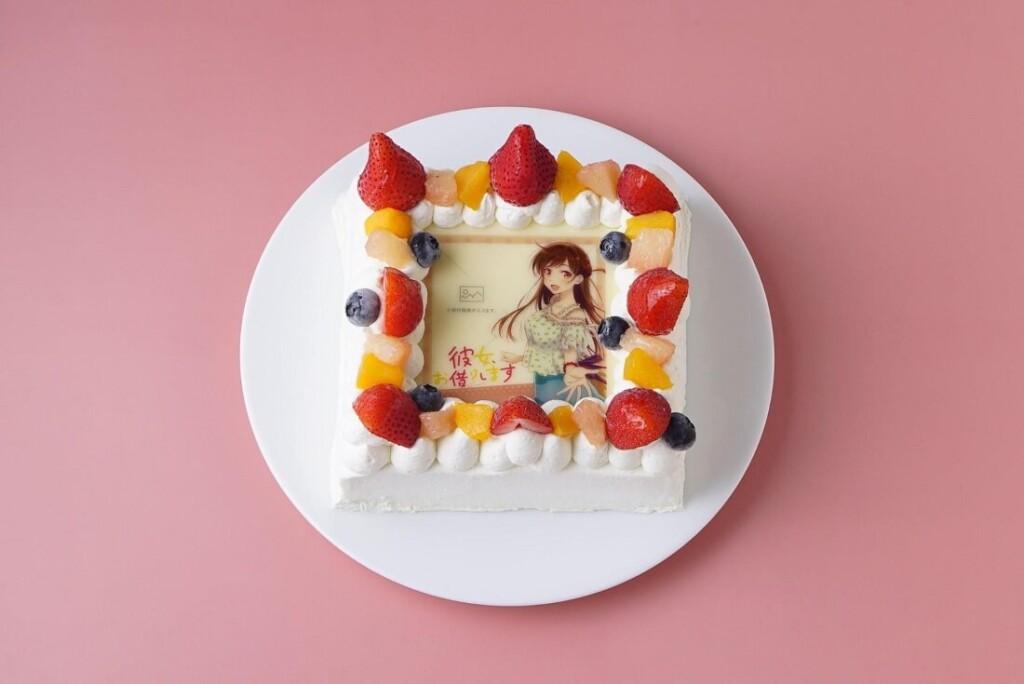 彼女、お借りします オリジナルフォトフレームケーキ