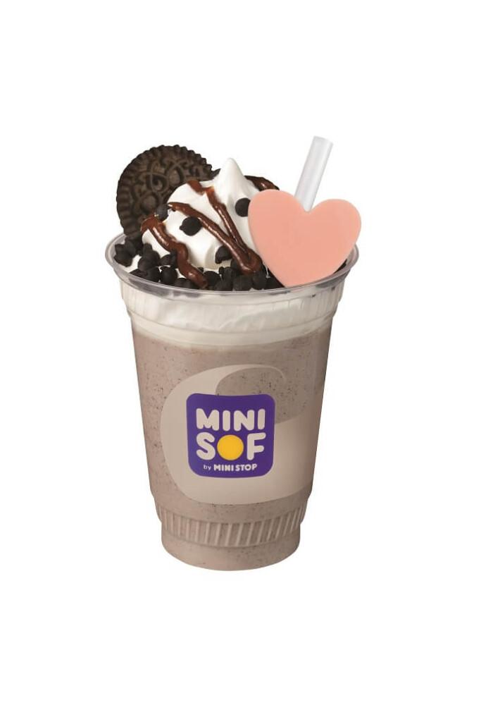 ミニソフ のむソフトクリームパフェ チョコクッキー