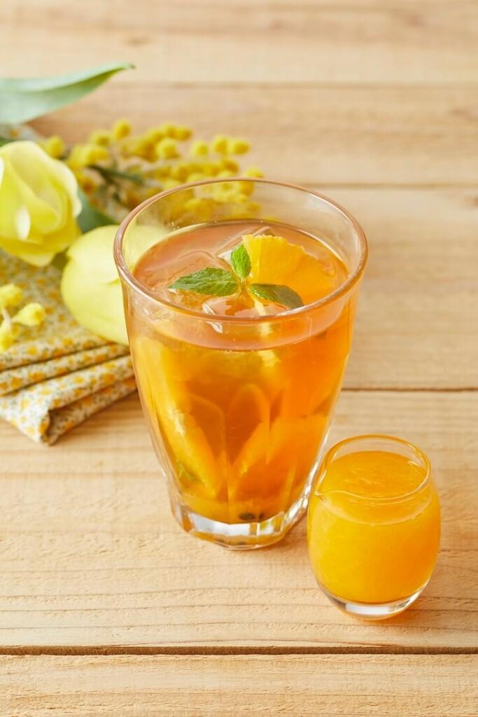 アフタヌーンティー・ティールーム フレッシュオレンジとパッションフルーツのアイスティー