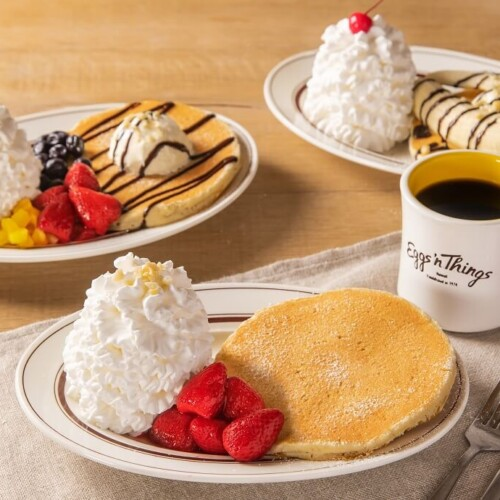 エッグスンシングス お一人さまパンケーキ