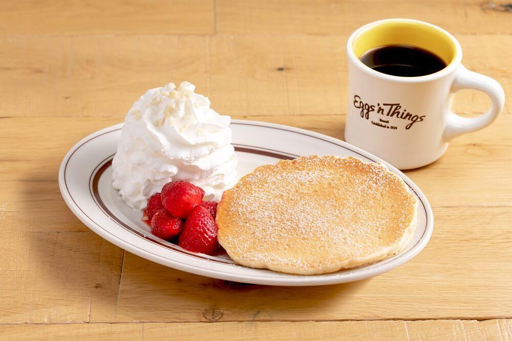 エッグスンシングス お一人さまパンケーキ 各種フルーツのパンケーキ