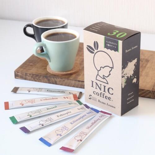 INIC coffee 「ビーンズアロマ アソートボックス」