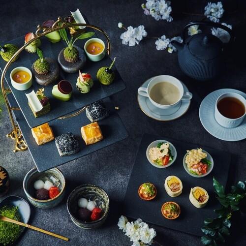 ホテル インターコンチネンタル 東京ベイのニューヨークラウンジ 抹茶アフタヌーンティー