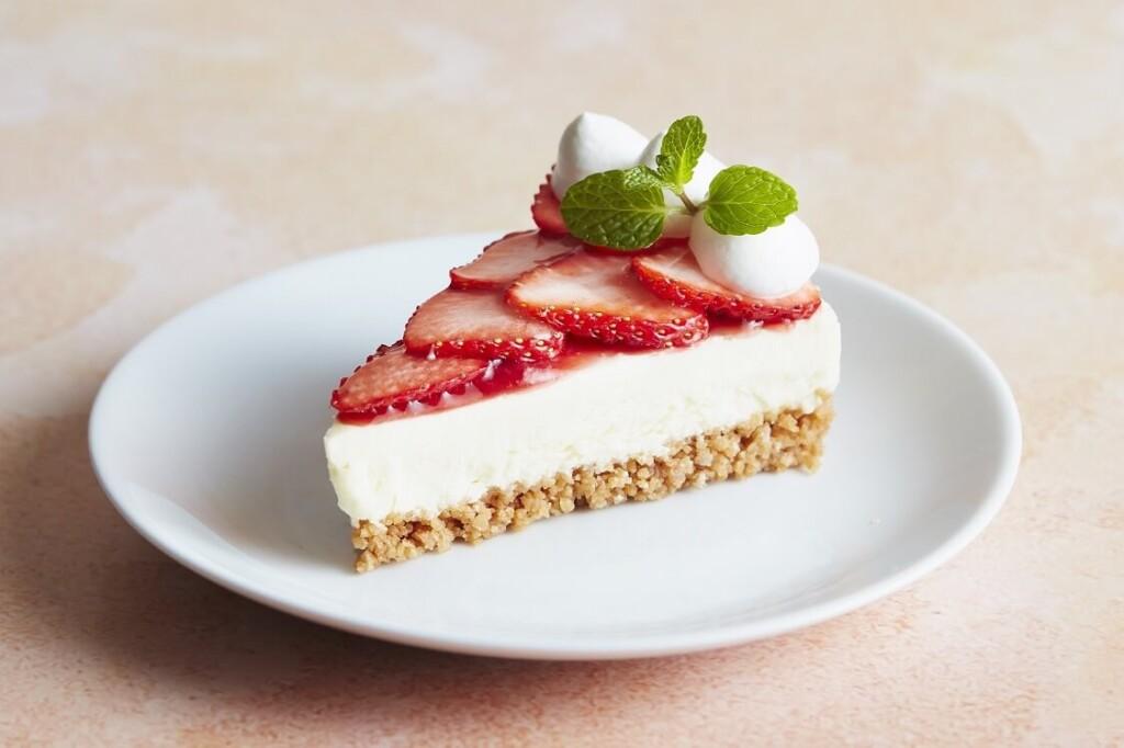 J.S. PANCAKE CAFE ストロベリー レアチーズケーキ