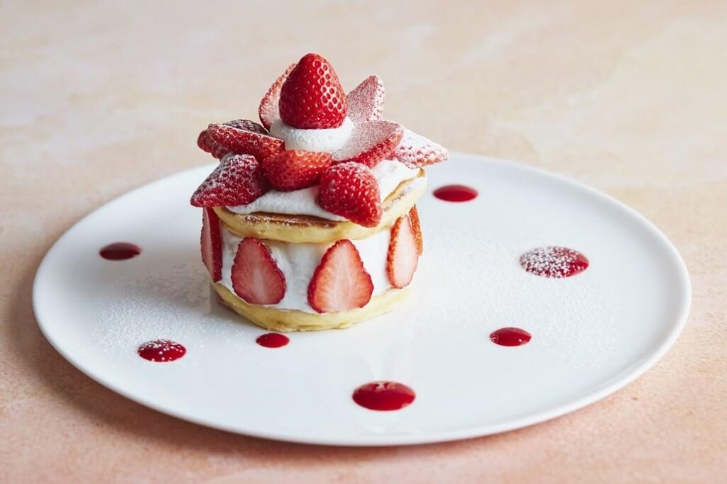 J.S. PANCAKE CAFE ストロベリーガーデンパンケーキ