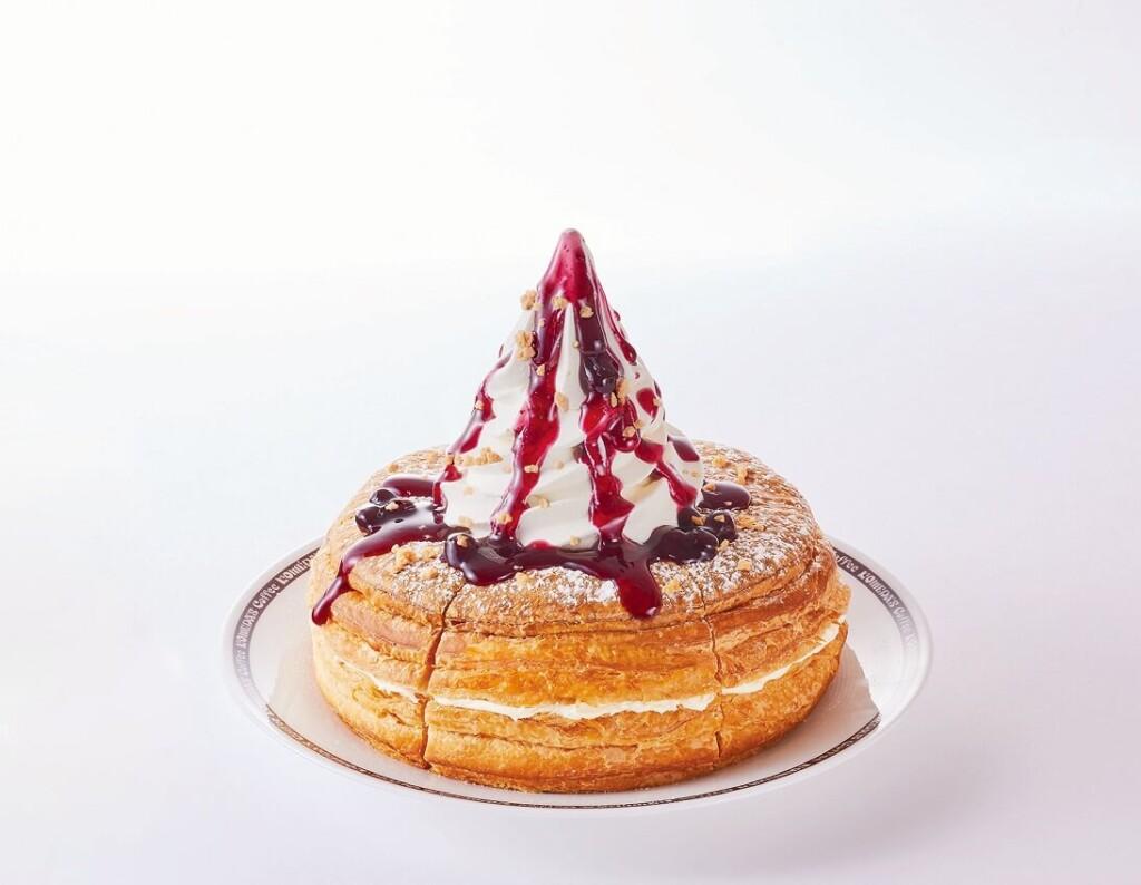 コメダ珈琲店 シロノワール フロマージュベリー