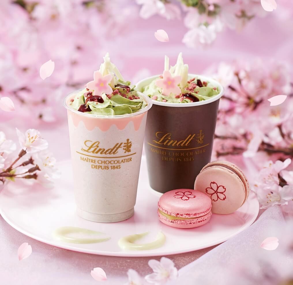 リンツ さくら咲く チョコレートドリンク
