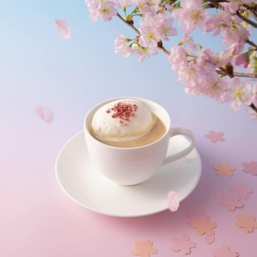 上島珈琲 山桜のミルク珈琲