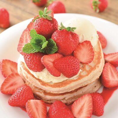 アロハテーブル あまおう苺のパンケーキ