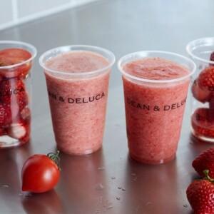 【期間限定】DEAN & DELUCAで旬のいちごを丸ごと味わう「ストロベリージュース」発売!