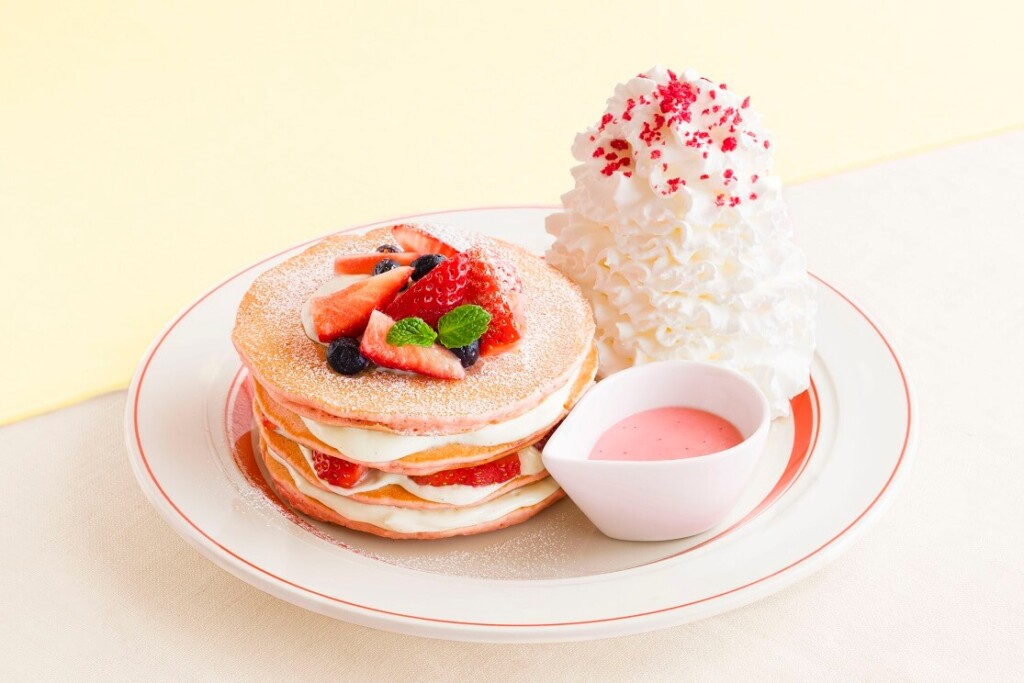 エッグスンシングス ミルクのミルフィーユパンケーキ