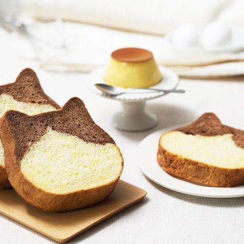 ねこねこ食パン プリン