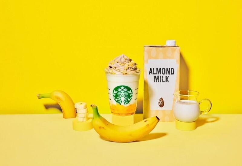 スタバ バナナンアーモンドミルク フラペチーノ®