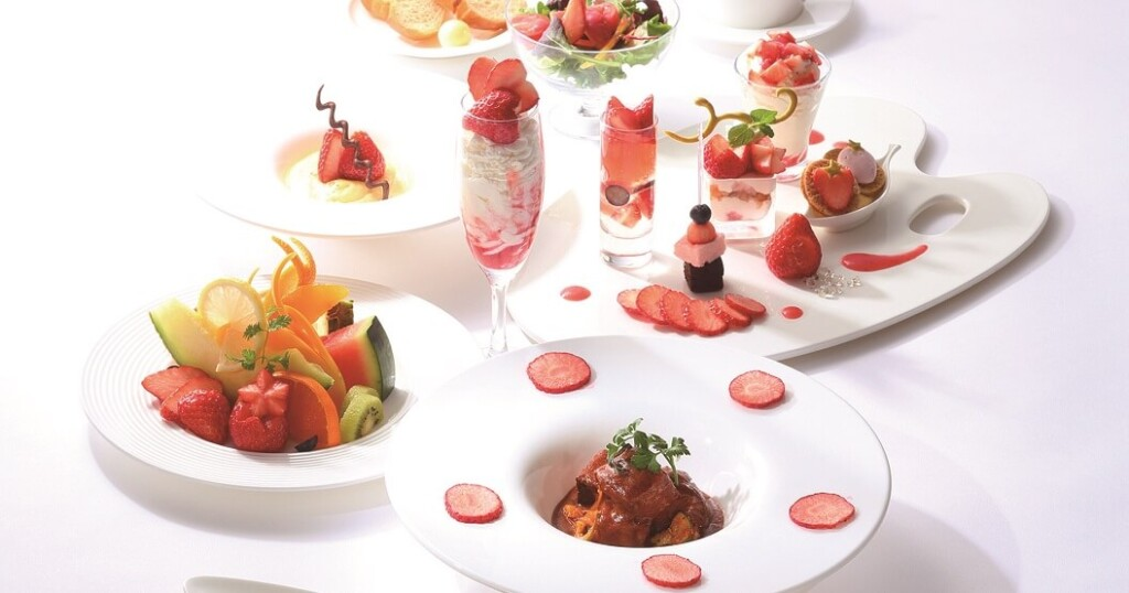 タカノフルーツパーラー 苺のフルコース
