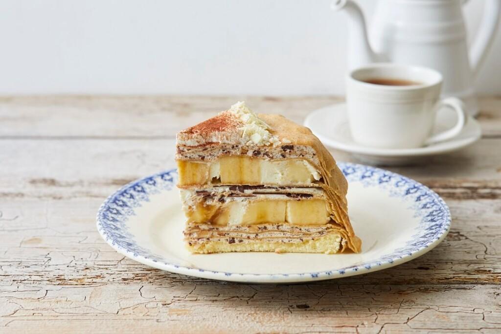 Afternoon Tea LOVE&TABLE パリパリチョコとバナナのミルクレープ