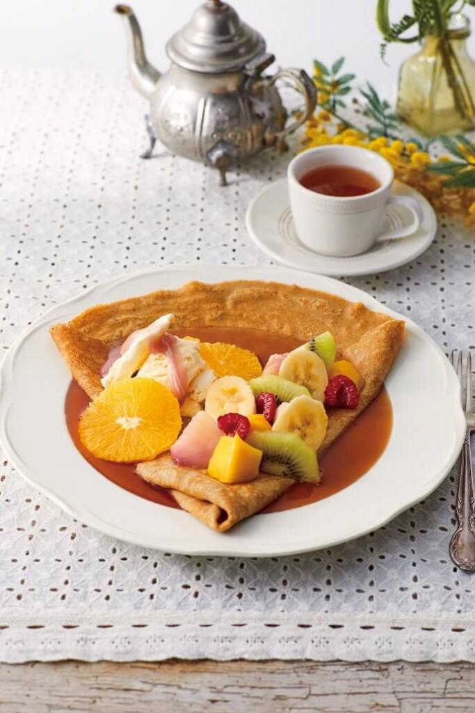 Afternoon Tea LOVE&TABLE 6 種フルーツとアールグレイのティーシュゼット