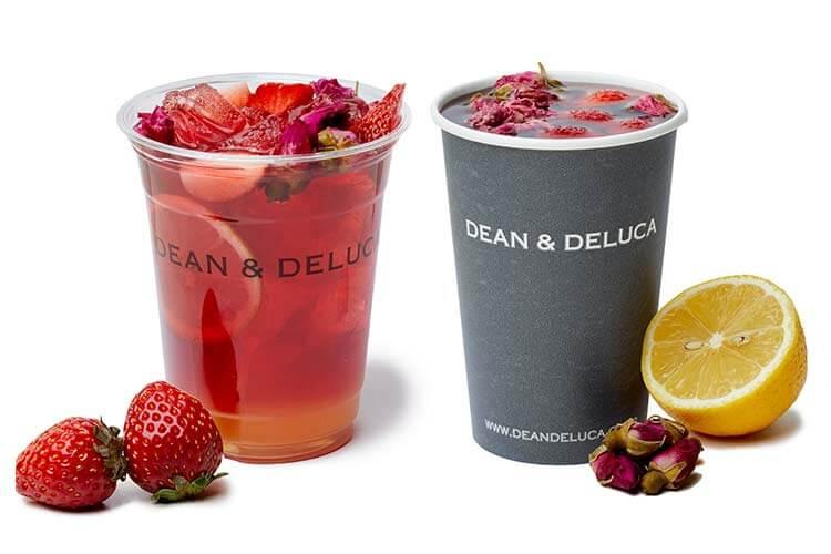 DEAN & DELUCA CAFE ローズレモネード