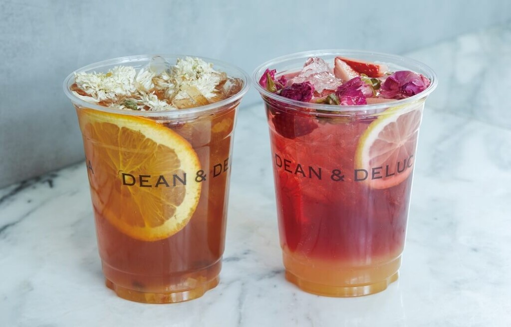 DEAN & DELUCA CAFE フルーツフラワーティー