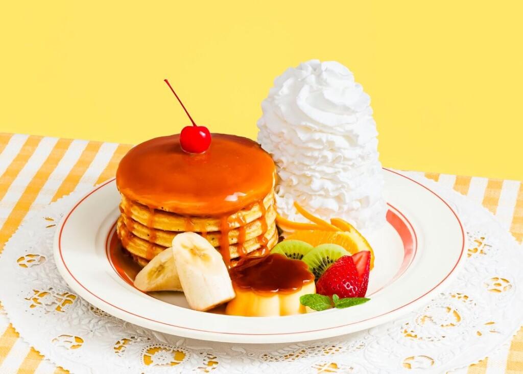 エッグスンシングス 『なつかしのパンケーキ・ア・ラ・モード』