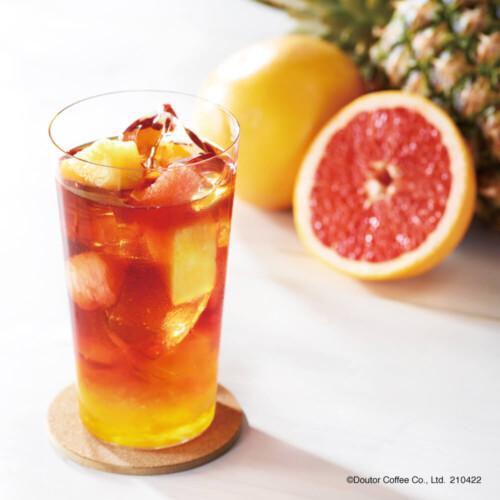 エクセルシオールカフェ フルーツルイボスティー オレンジ&パッションフルーツ