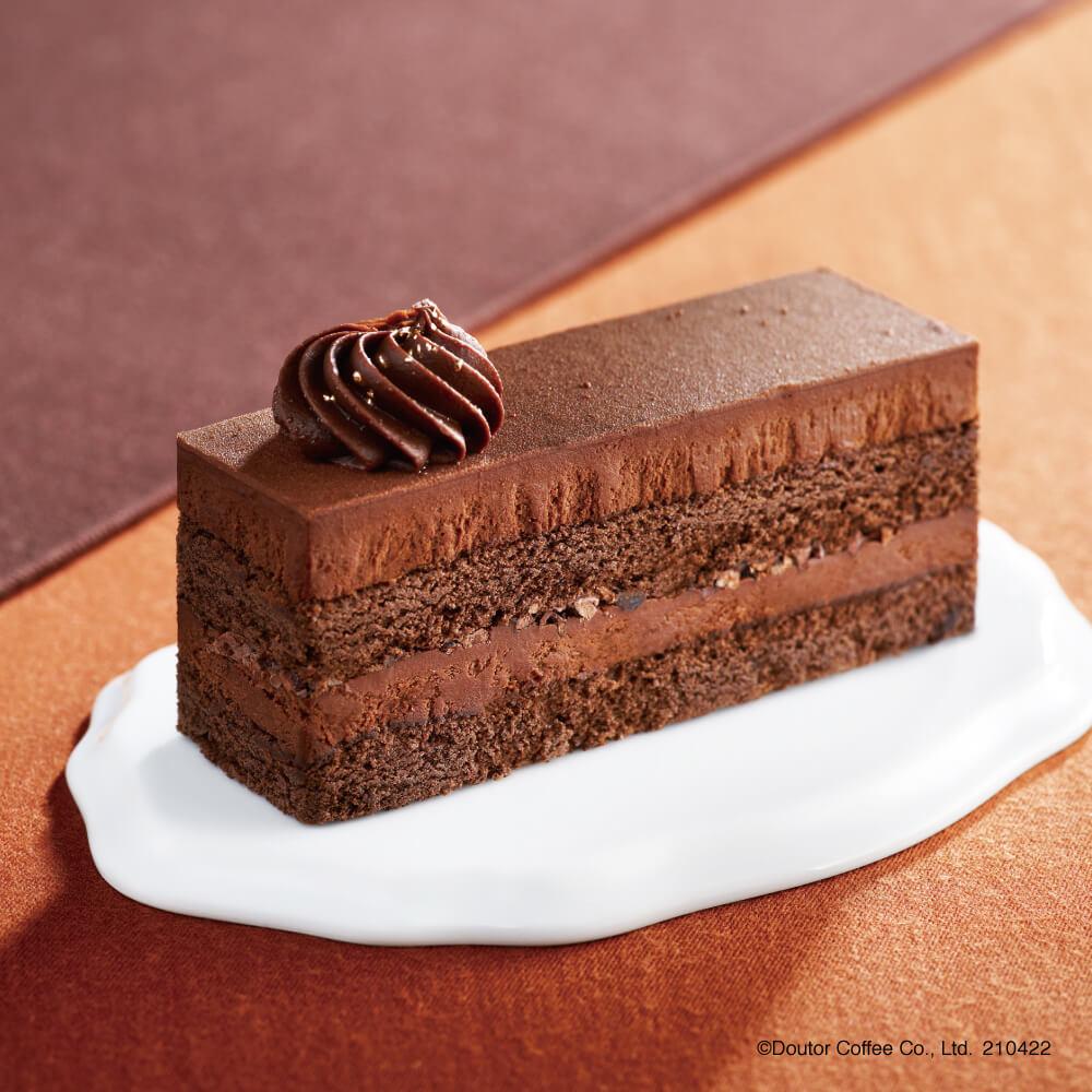 エクセルシオールカフェ3種のチョコレートケーキ ~ベルギー産クーベルチュールチョコレート使用~
