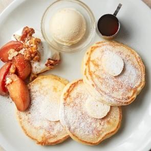「J.S. PANCAKE CAFE」シナモンアップルパンケーキ