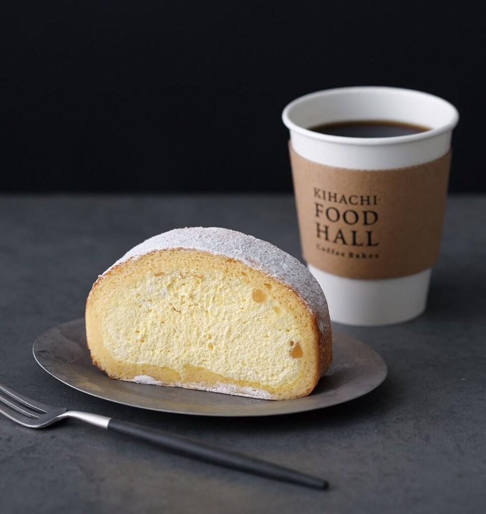キハチフードホール コーヒーベイクス ロールケーキ