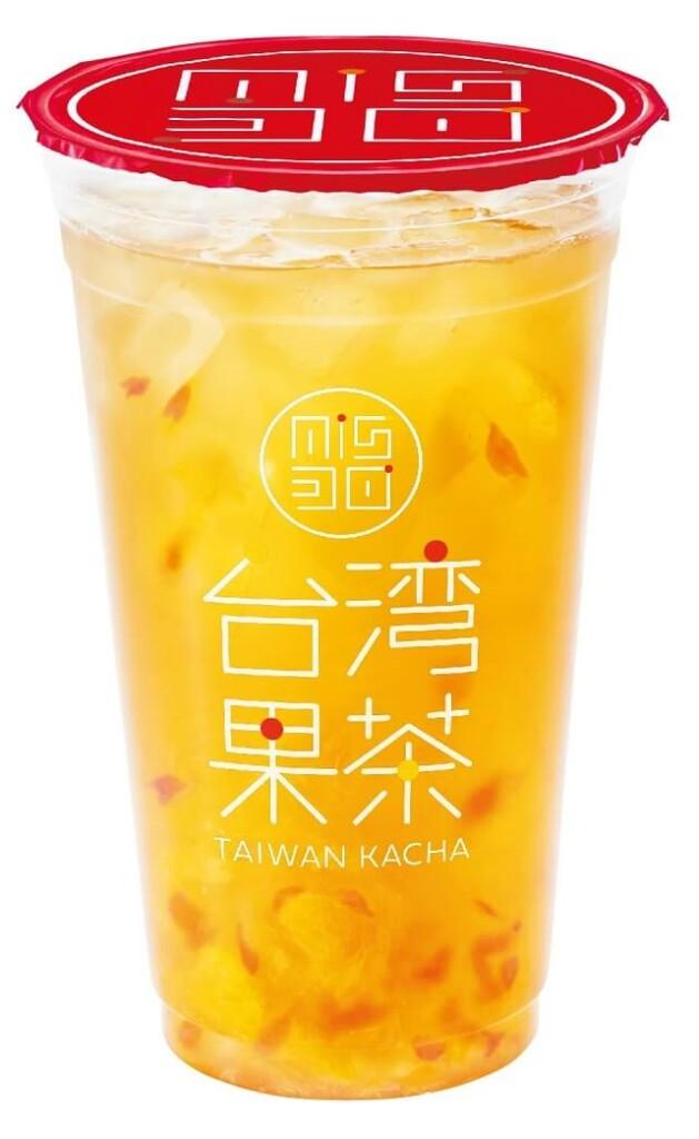 ミスタードーナツ 台湾果茶 オレンジピンクグレープフルーツジャスミン