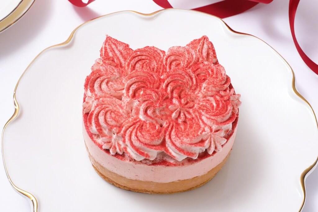 ねこねこチーズケーキ ねこねこWチーズケーキ いちご
