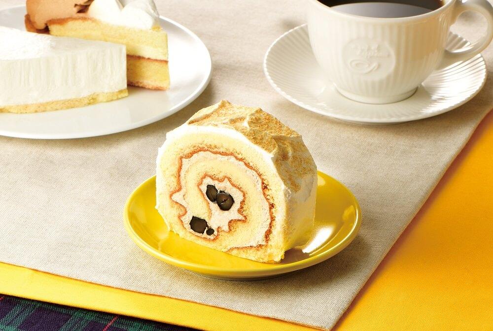 カフェドクリエ 和風ロールケーキ~きなこ&黒豆~