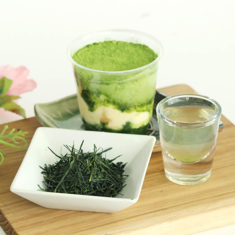 d:matcha 新茶の濃厚宇治茶ティラミス食べ比べセット2021