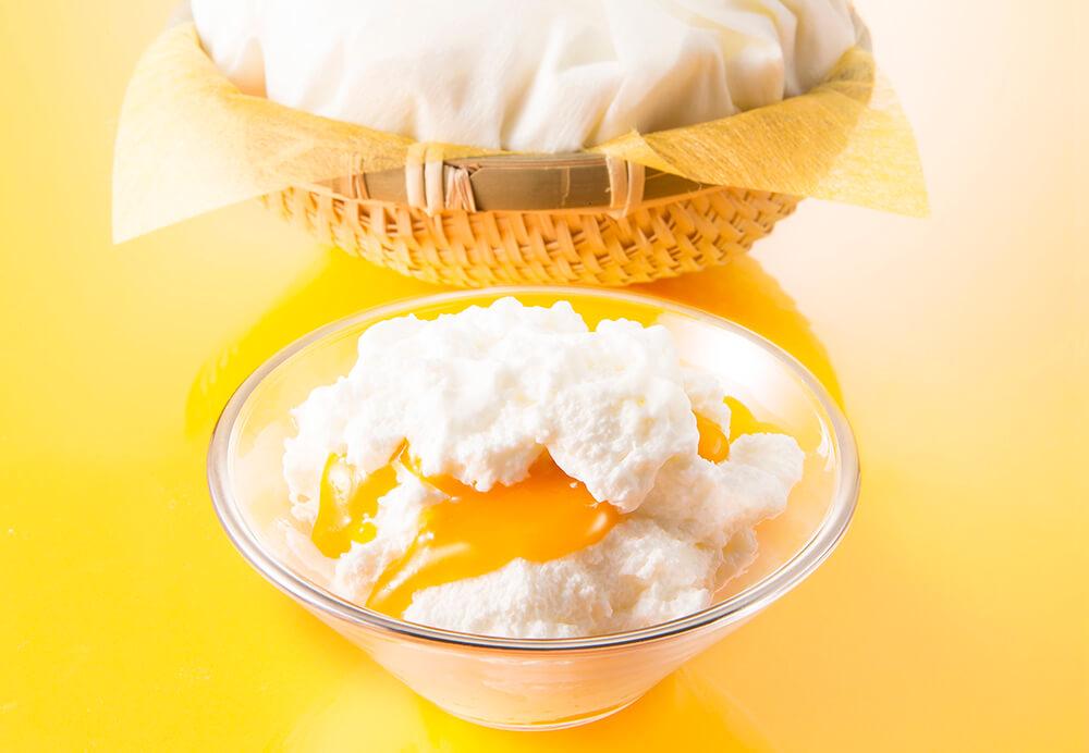 銀のぶどう チーズケーキ かご盛り 白らら〈パッションマンゴー〉