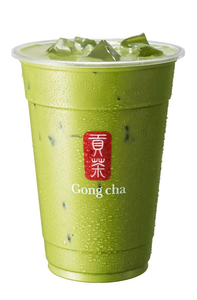 ゴンチャ 『新 抹茶 ミルクティー』