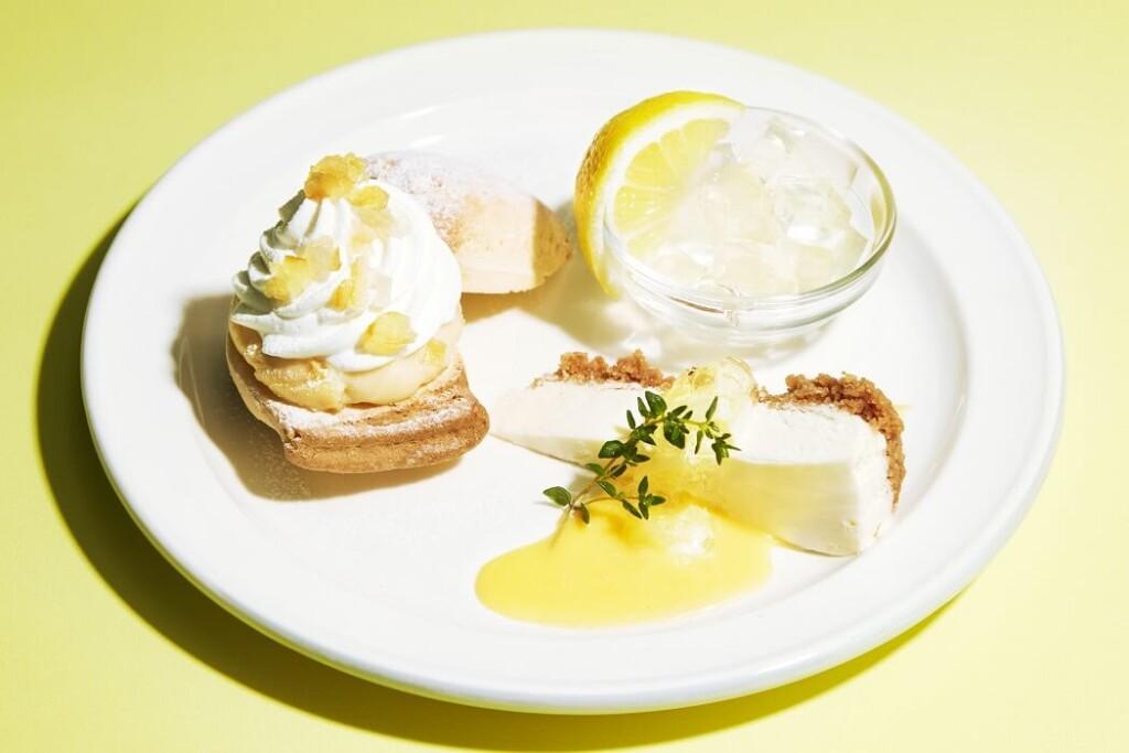 J.S. PANCAKE CAFE レモンづくしのスイーツプレート