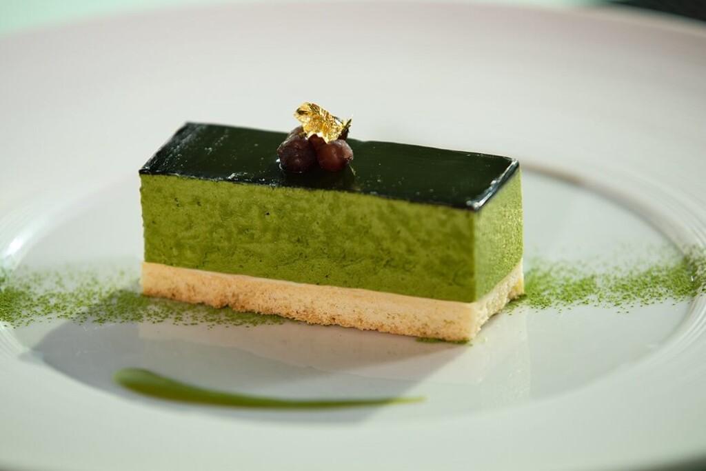 丸ノ内ホテル 抹茶のレアチーズケーキ