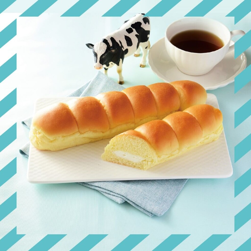 LAWSON BAKERY×生クリーム専門店Milk MILKカスタードのちぎりパン
