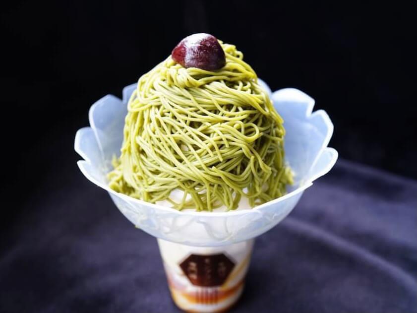生搾りモンブラン専門店 栗と抹茶