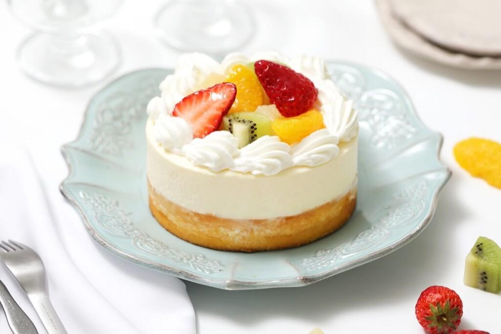 ねこねこWチーズケーキ フルーツ